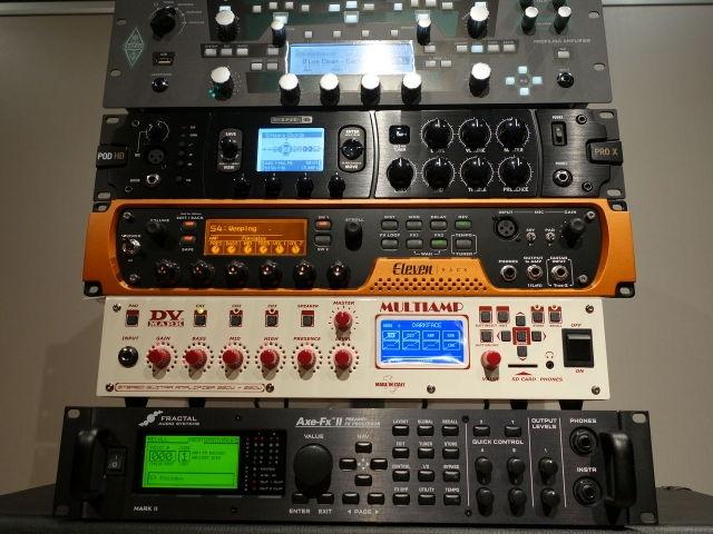 KEMPER・LINE6・AVID・DV MARK・FRACTAL AUDIO