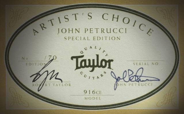 Taylor-Petrucci label
