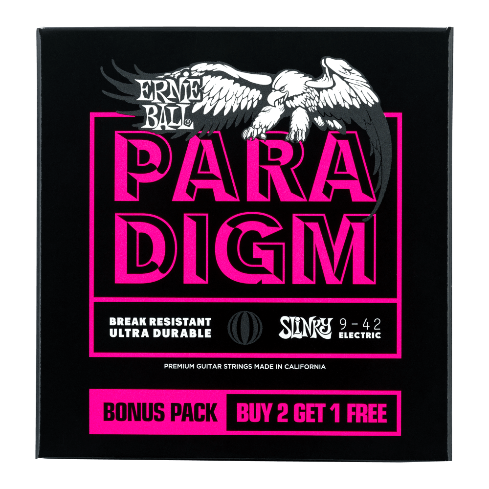 Ernie Ball 3328 Paradigm 3 Pack