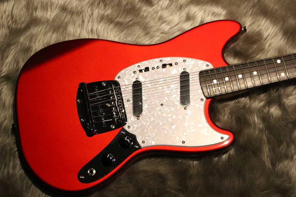 Fender Fender TRAD 70S MUSTANG MATCHING HEAD(CAR) CAR(Candy Apple Red)
