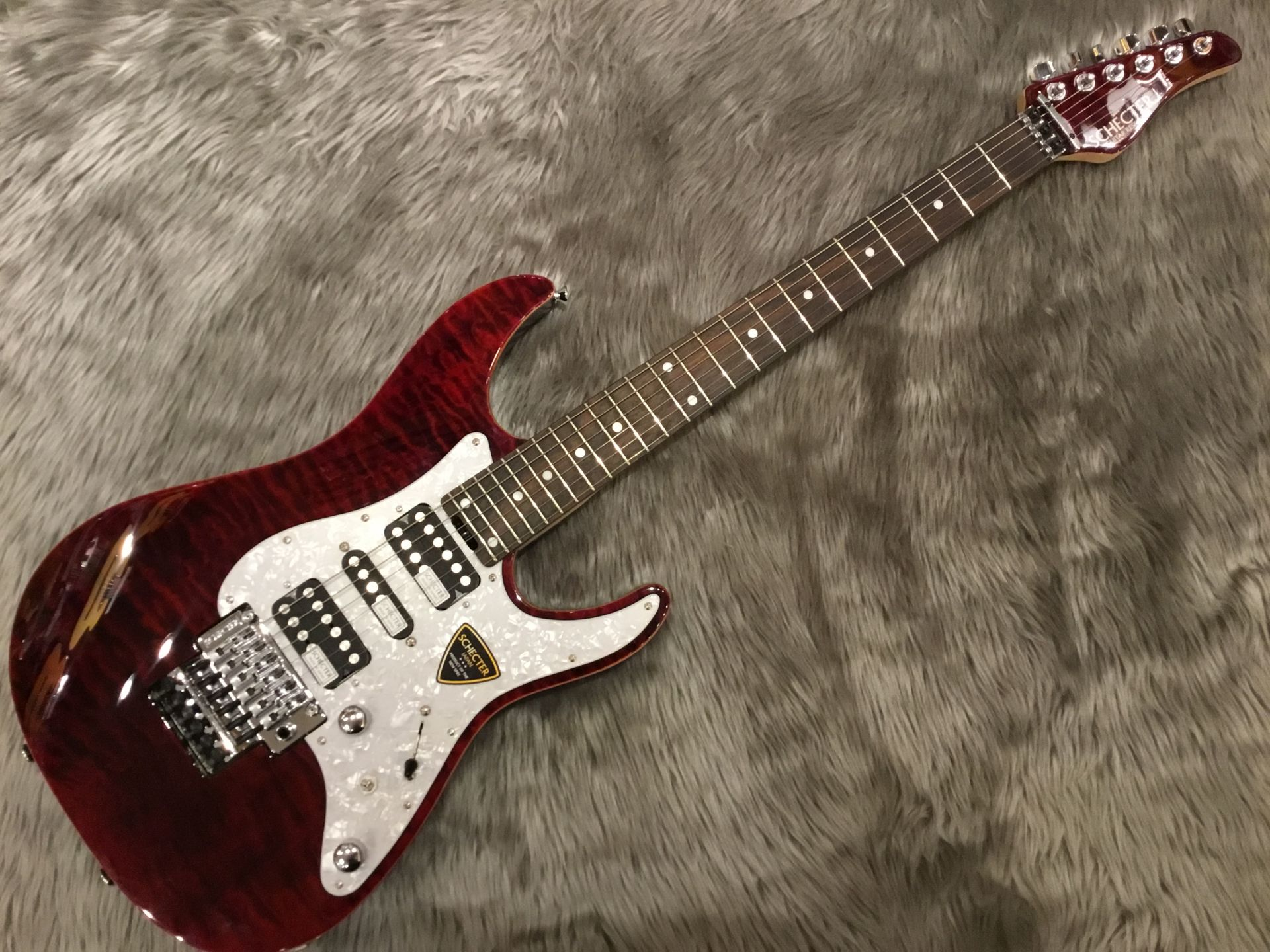 SCHECTER SD-2-24-AL/R RED