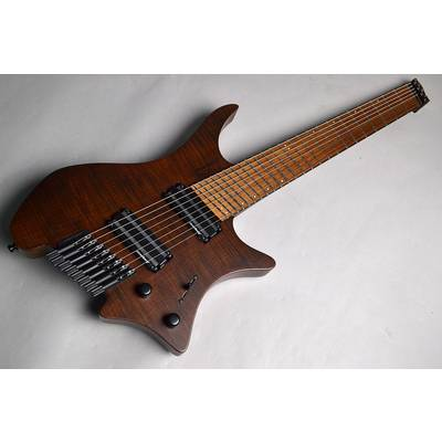 Strandberg Boden J8 / Brown/Brown Pau Fero Fingerboard Brown
