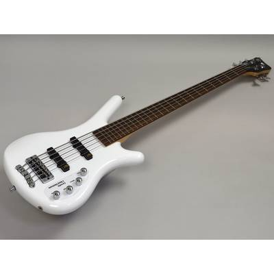 Warwick RB Corvette Basic 5 Solid White High Polish (WHP)