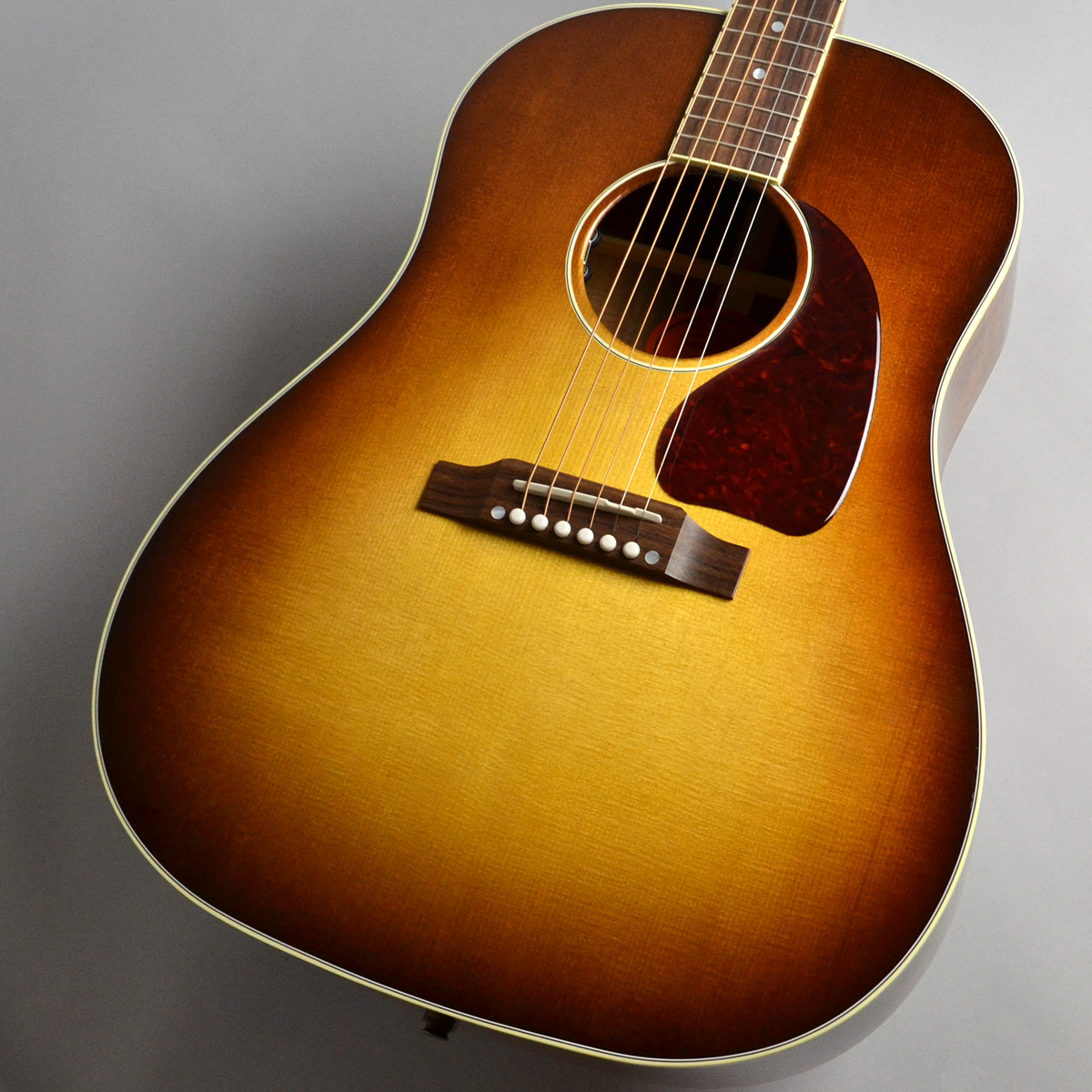 Gibson                   J-45 Koa Honey burst