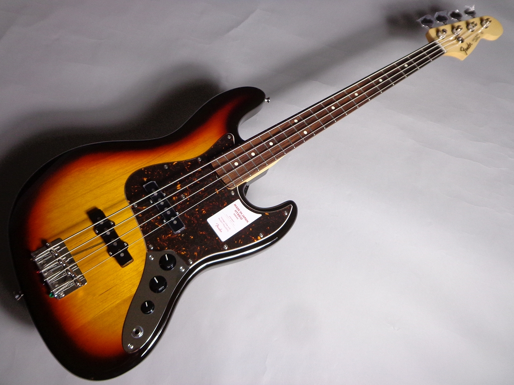Fender MADE IN JAPAN HYBRID 60S JAZZ BASS 3CS