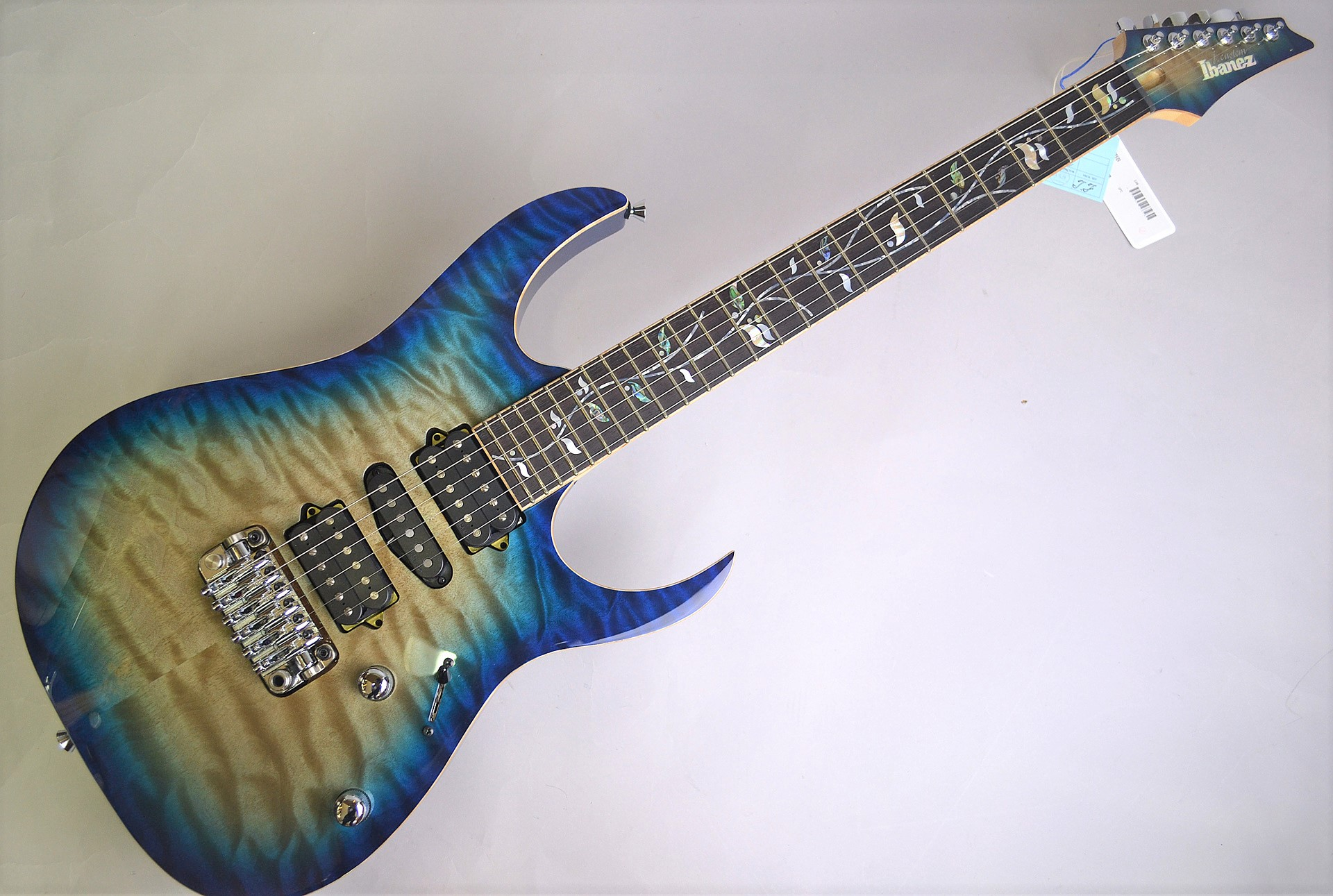 Ibanez RGV8570-CBB Cerulean Blue Burst 特注J-Custom Cerulean Blue Burst