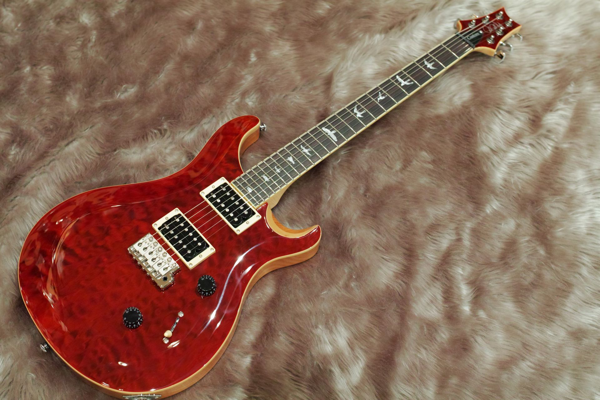 PRS SE Custom 24 QM LTD Black cherry【島村限定モデル!】 BC