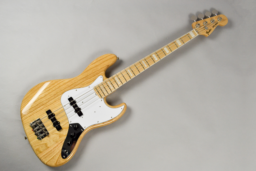 Fender Made in Japan Traditional 70s Jazz Bass NAT Natural