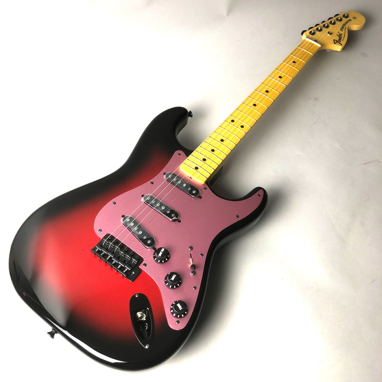 Fender Japan Ken Stratocaster Galaxy Red Ken(L'Arc-en-Ciel)モデル Galaxy Red