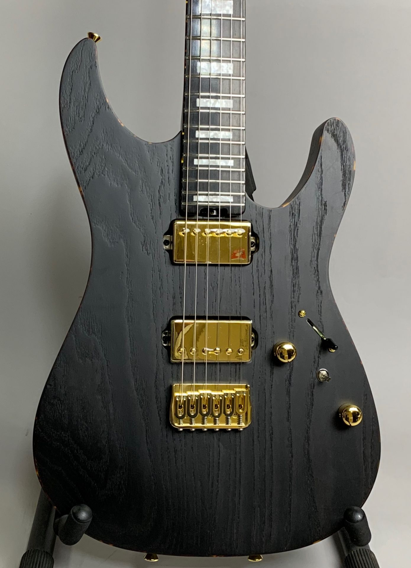 SCHECTER L-NV-3-24-AS-2H-FXD/E Carbon Tint【限定モデル】 Carbon Tint