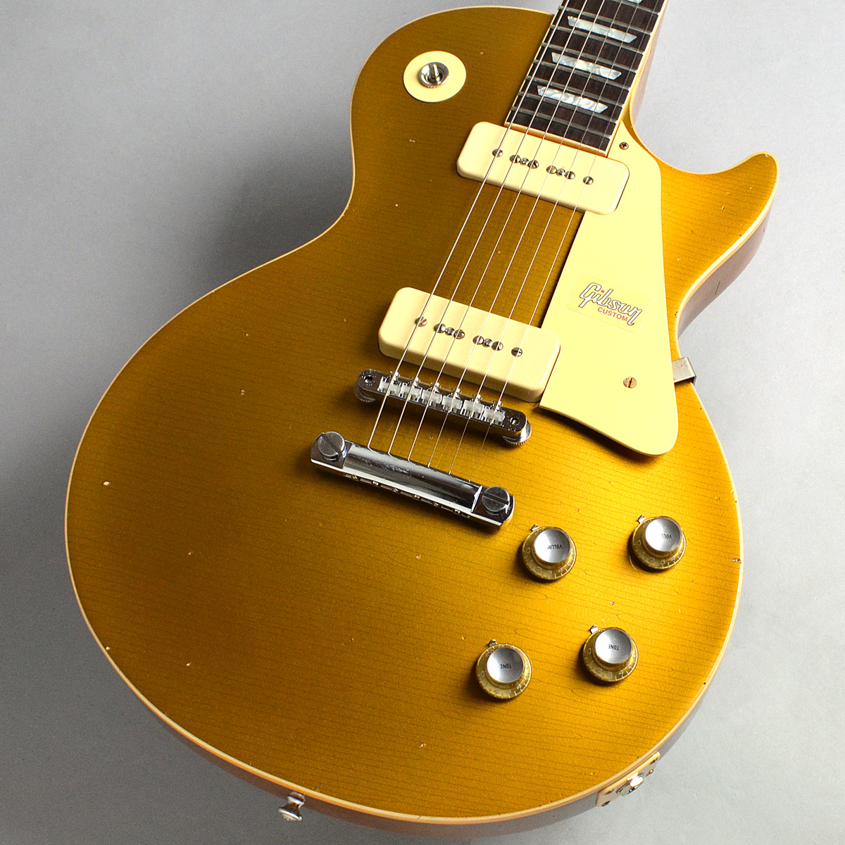 Gibson                   1968 Les Paul M2M Gold Top HeavyAged Gold Top