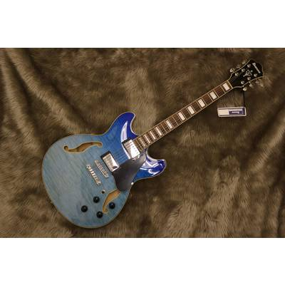 Ibanez AS73FM-AVG Azure Blue Gradation【2019年モデル・限定品】 AVZ AVG