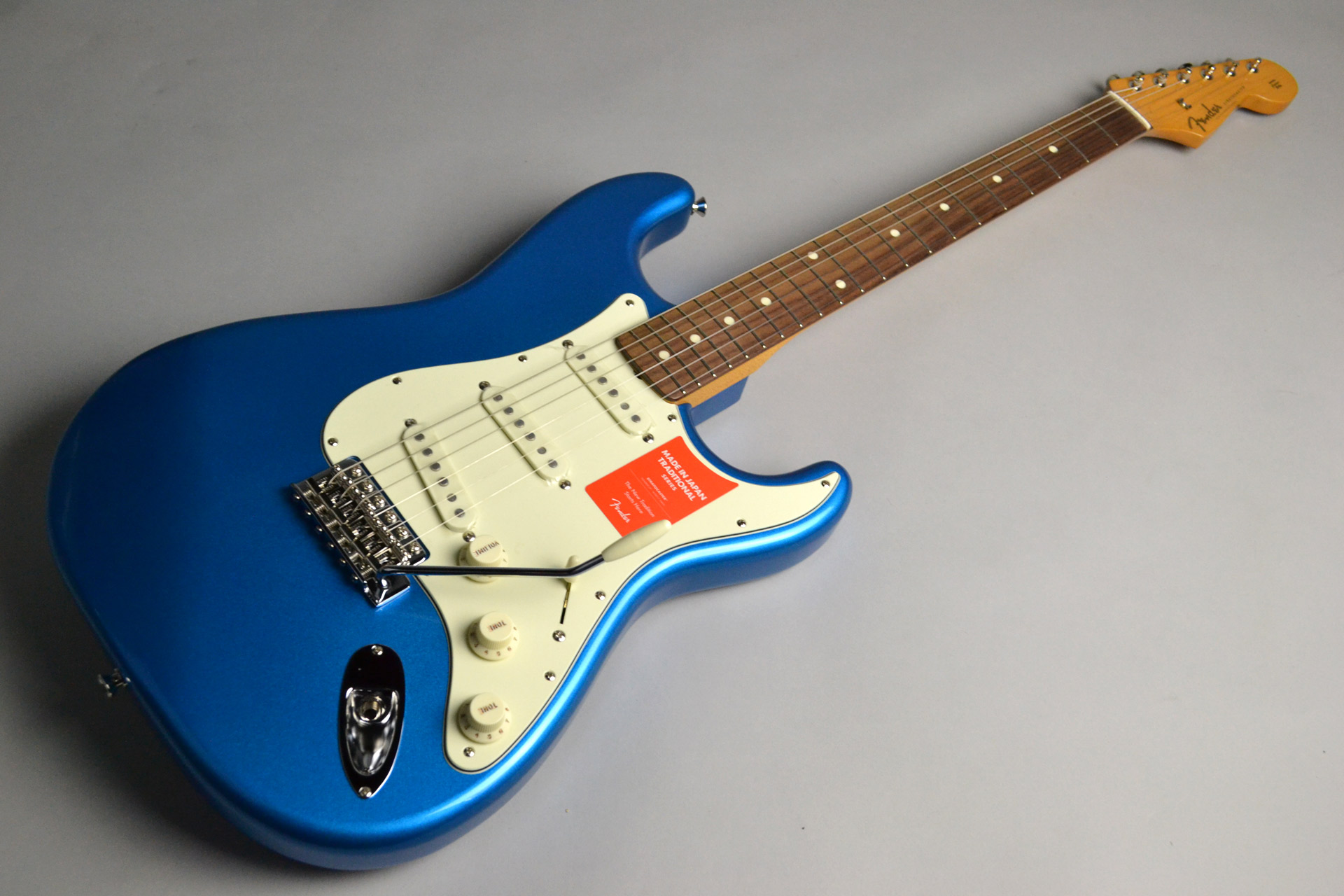 Fender MADE IN JAPAN TRADITIONAL 60S STRATOCASTER Candy Blue CAB