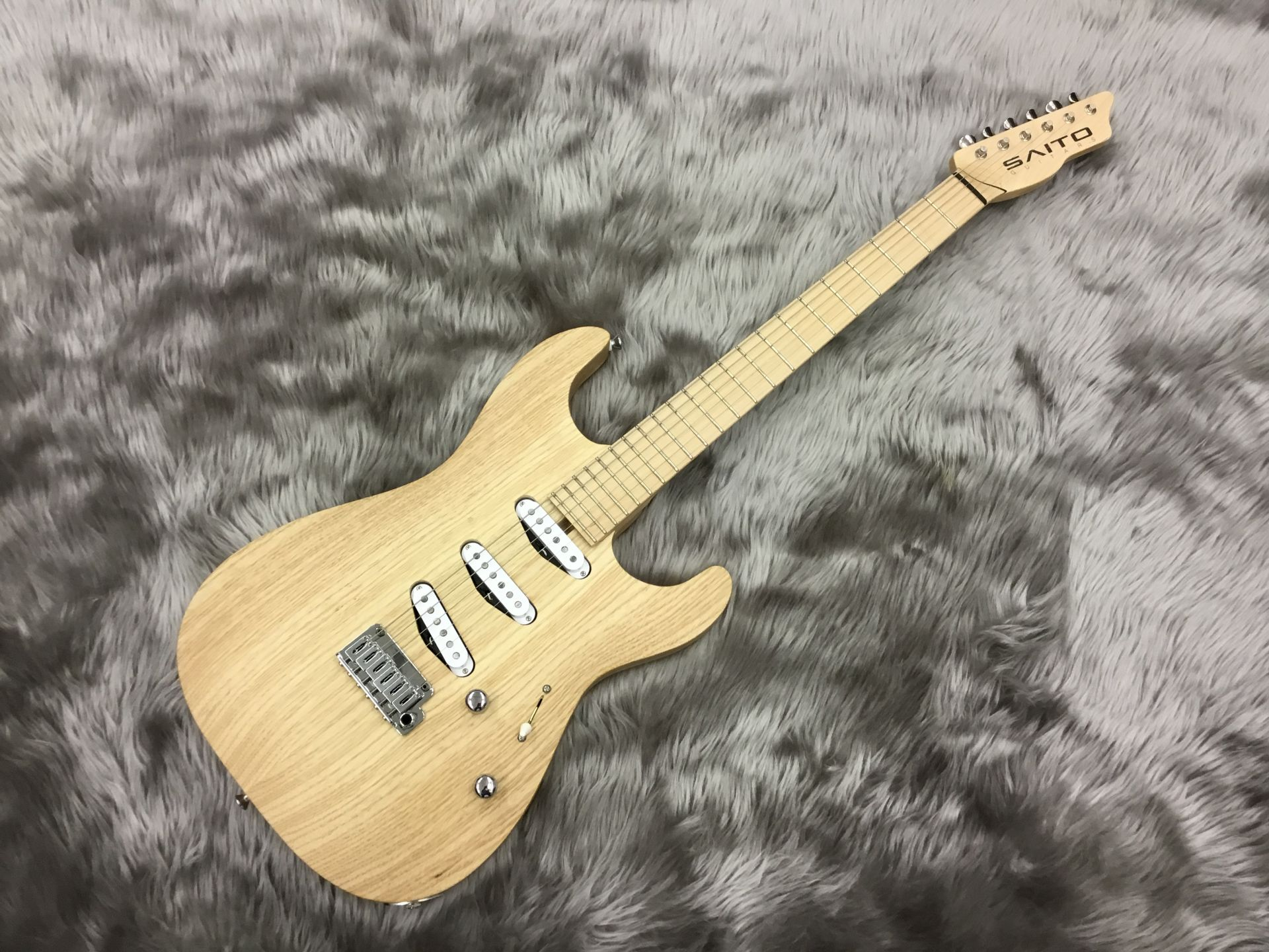 SAITO GUITARS S-622/SSS Natural