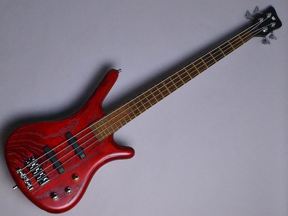 Warwick Pro Series Corvette Ash 4 Burgund Red Transparent Satin(BR) 【S/N:WPS E-000374-10】
