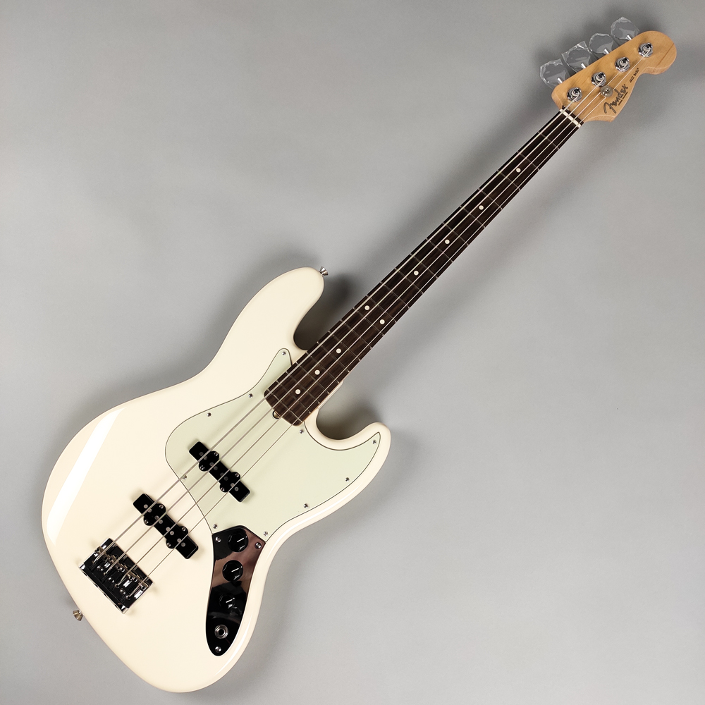 Fender American Professional Jazz Bass OWT Olympic White