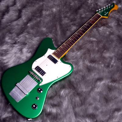 KAMINARI GUITARS×HISTORY KH-CYGNET Apple Green Metalic