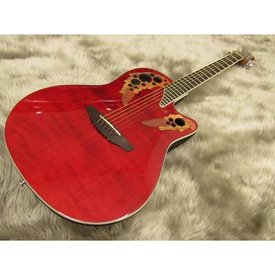 Ovation CE48 RBRD(Ruby Red)