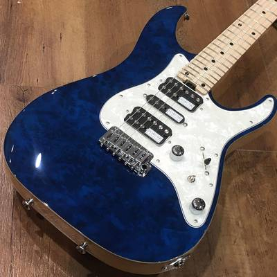 SCHECTER SD-2-24-VTR-AS-MW/M/SEE THRU BLUE SEE THRU BLUE
