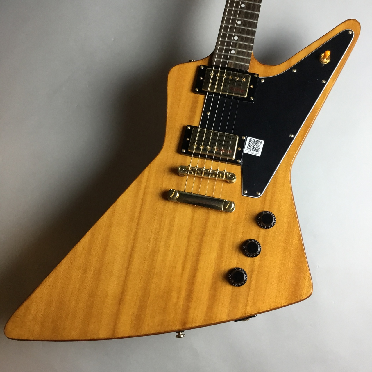 Epiphone LTD Korina Explorer AN