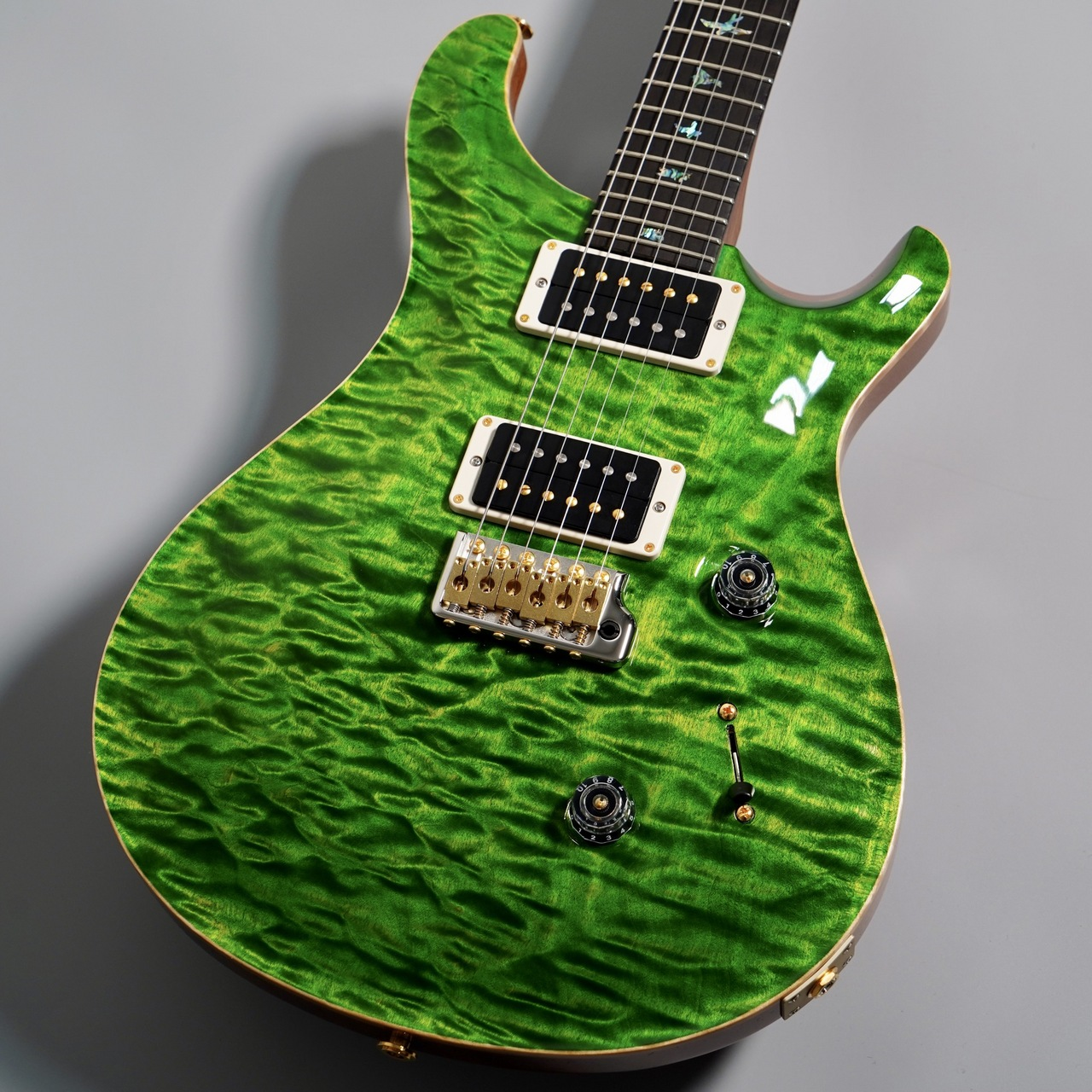 PRS Wood Library Custom24 Torrified Maple Neck【SN:20 0307065 】 Emerald
