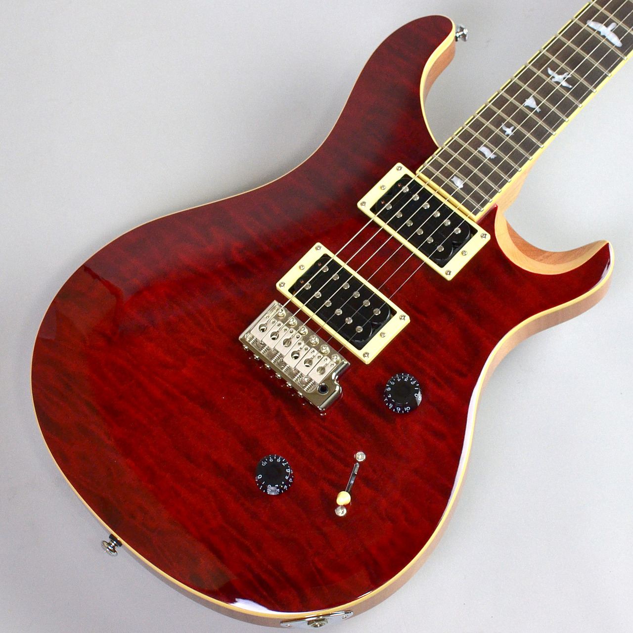 PRS SE Custom 24 QM LTD Black Cherry