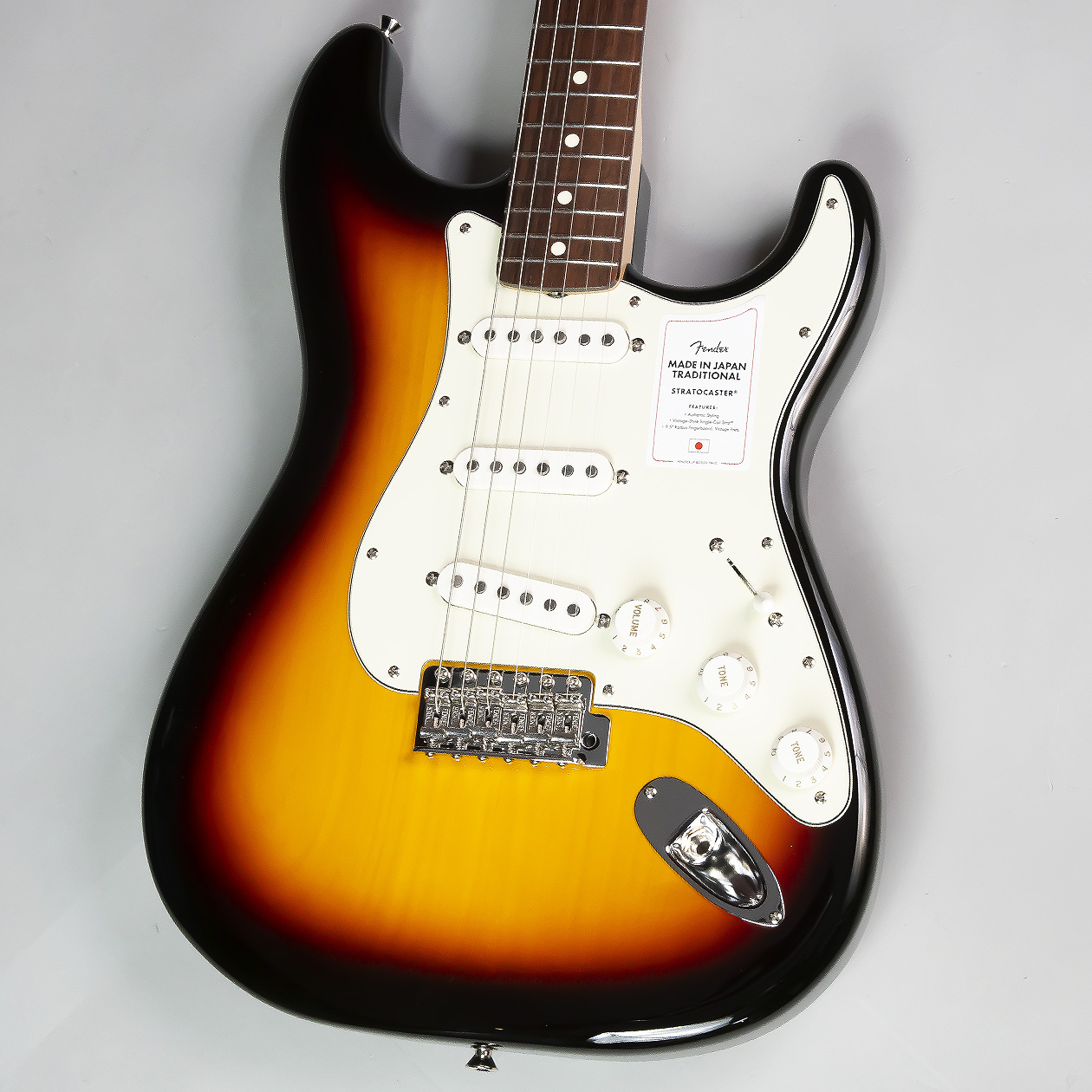 Fender Made in Japan Traditional 60s Stratocaster RW 3TS