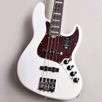 Fender American Ultra Jazz Bass Rosewood Fingerboard Arctic Pearl
