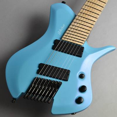 その他ブランド BLACKAT Guitars HSA 8 Light Blue with Pearlescent Finish