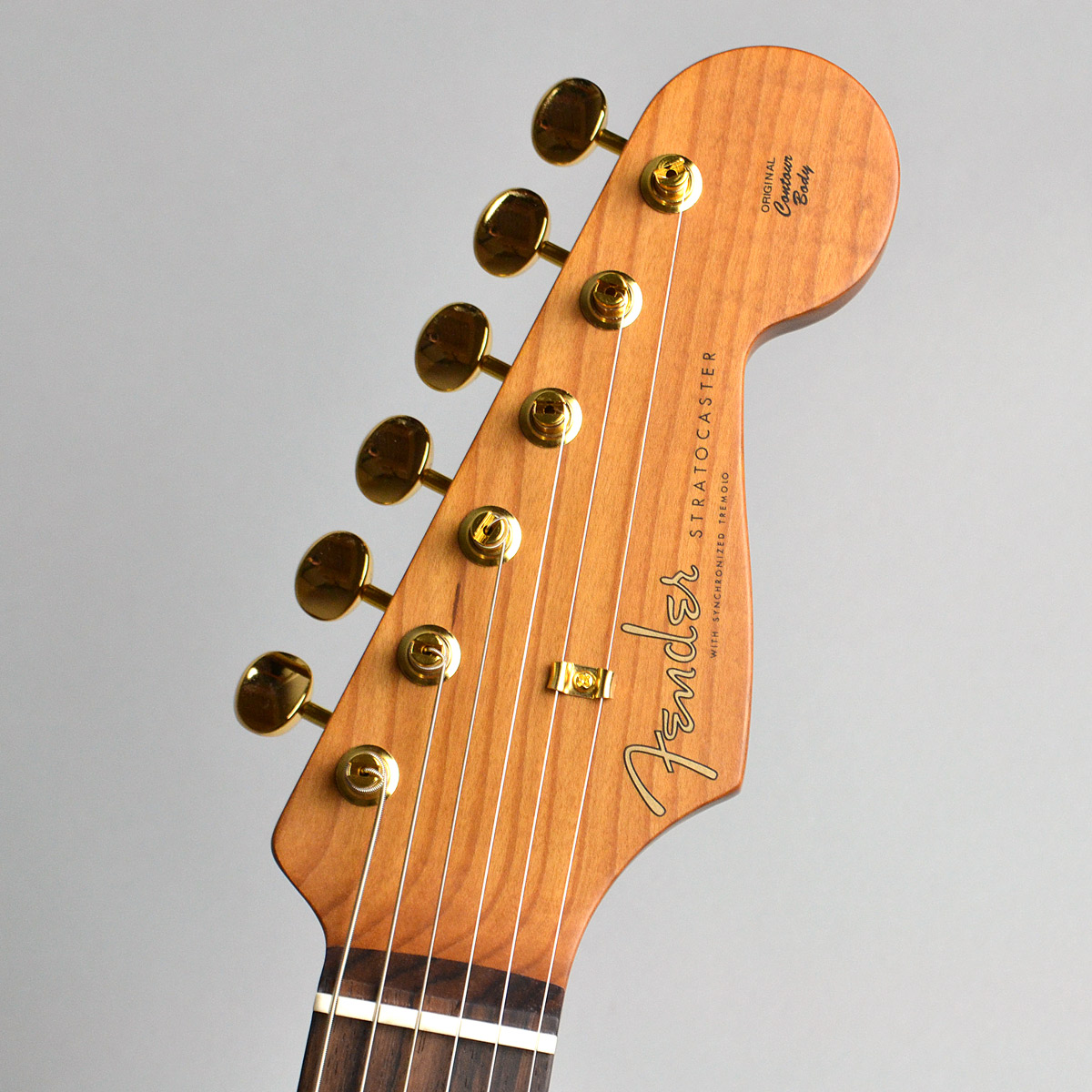 Made in Japan 2020 Limited Collection Stratocasterのヘッド画像