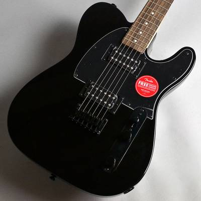 Squier by Fender FSR Affinity Series Telecaster HH Metallic Black