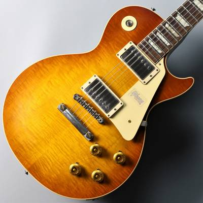 Gibson Custom Shop (ギブソン) 60th Anniversary 1959 Les Paul Standard HRM VOS Faded Amber Burst (現物写真) Faded Amber Burst