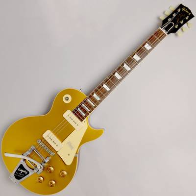 Gibson 1956 LES PAUL REISSUE HRM GOLD TOP VOS w/BIGSBY #68145 GOLD
