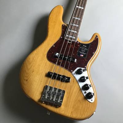 Fender American Ultra Jazz Bass Rosewood Fingerboard Aged Natural AGN
